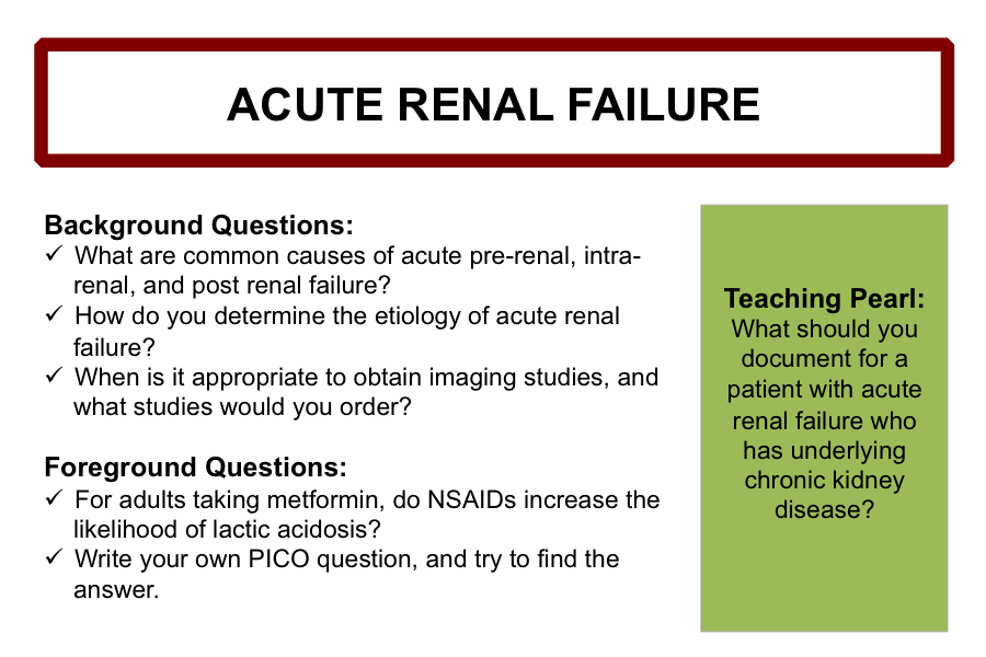 understanding acute renal failure Chapter 42 acute renal failure dinkar kaw, md , joseph i shapiro, md 1 how is acute renal failure (arf) diagnosed arf is a rapid loss of glomerular filtration rate (gfr) over a period of hours to a few days this is usually determined by a sudden rise in plasma creatinine and blood urea nitrogen.