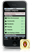 Residency Rater iPhone App - See iTunes App Store for Download