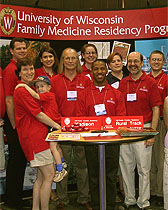Recruiting for the University of Wisconsin Department of Family Medicine in Kansas City.