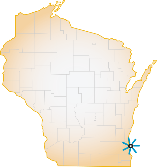 Milwaukee Family Medicine Residency WI Map