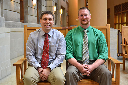 The new Baraboo residents, from left: Paul Stevens, MD; Mathew Herbst, MD