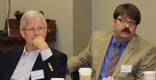 RTT Collaborative Executive Director Randall Longecker, MD, and the DFMCH's Baraboo RTT Director Stuart Hannah, MD.