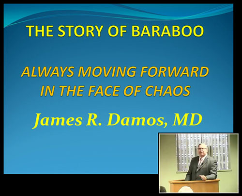 "James Damos, MD, presents ""The Story of Baraboo"""