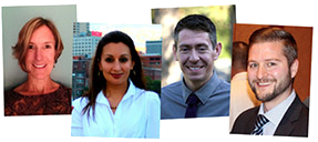 Recent graduates and new faces in the DFMCH's addiction medicine fellowship program.