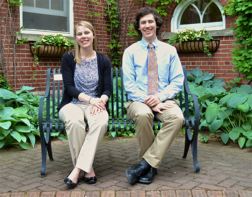 New Baraboo residents, from left: Abigail Puglisi, DO; and Neil Cox, MD.