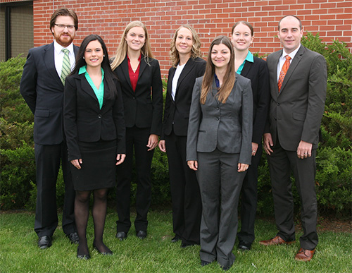 New Fox Valley residents. Back row: Michael Aleksandrowicz, MD; Kirsten Gierach, DO; Bre Anna Nagle, MD; Jaclyn Mullins, MD; Michael Otte, MD. Front row: Stacee Goedtel, DO; Jessica Lemke, MD.