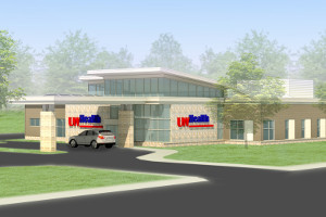 A rendering of the new UW Health Fort Atkinson clinic.