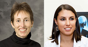 Beth Potter, MD and Audra Wagaman, PsyD