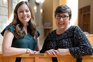 Kelsey Schmidt, MD, and Karyn Cecele, MD.