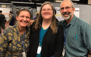 Paul Smith, MD (right), with colleagues Tosha Wetterneck, MD (left), and Randi Cartmill (center).