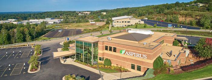 Aspirus Wausau Family Medicine aerial 2018