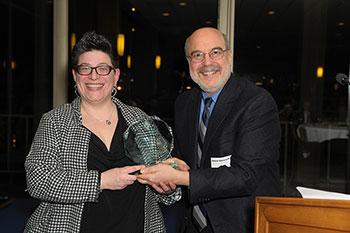 Ronni Hayon, MD, with William Schwab, MD